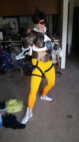 Tracer from Overwatch worn by Adnarimification