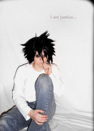 L / Ryuuzaki from Death Note worn by Adnarim
