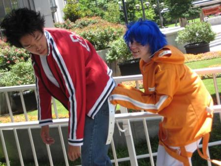 Akito / Agito Wanijima from Air Gear worn by Adnarimification