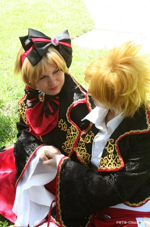 Kagamine Len from Vocaloid 2 worn by Adnarimification