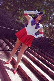 Sailor Mars from Sailor Moon Crystal worn by Adnarimification