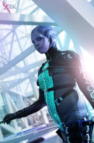 Asari Huntress from Mass Effect 3 worn by Adnarimification