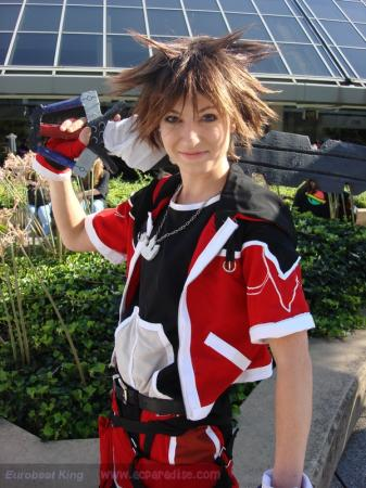Sora from Kingdom Hearts 2 worn by Vikki