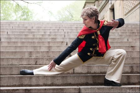 Eight from Final Fantasy Type-0 worn by Vikki