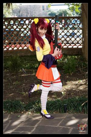 Midori from Guitar Hero III worn by Catzilerella