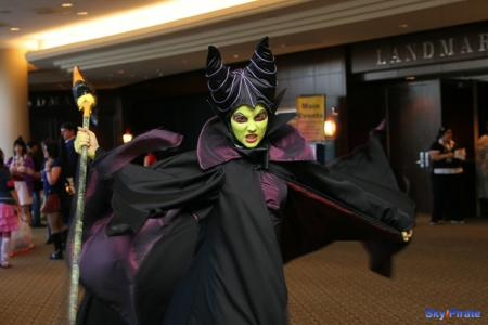Maleficent from Kingdom Hearts worn by Catzilerella