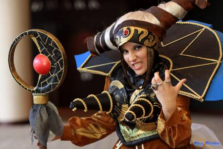 Rita Repulsa from Mighty Morphin' Power Rangers worn by Catzilerella