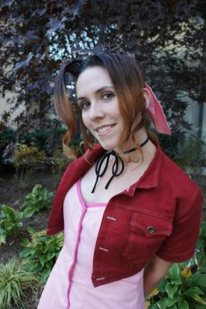 Aeris / Aerith Gainsborough from Final Fantasy VII: Advent Children worn by Elk Daemone
