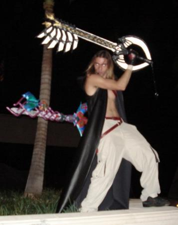 Keyblade from Kingdom Hearts worn by CeruleanDraco