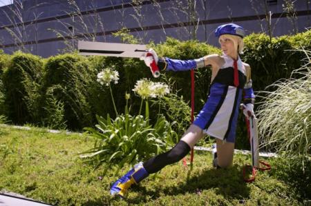 Noel Vermillion from BlazBlue: Calamity Trigger worn by CeruleanDraco