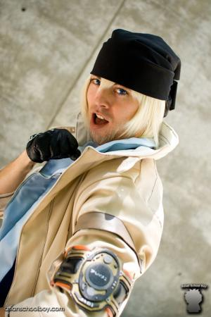 Snow Villiers from Final Fantasy XIII worn by CeruleanDraco
