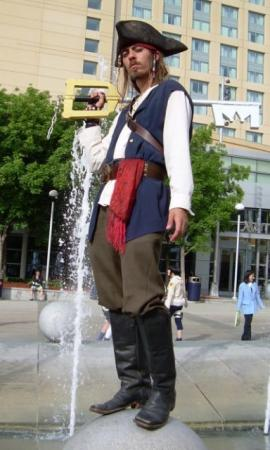 Captain Jack Sparrow from Kingdom Hearts 2