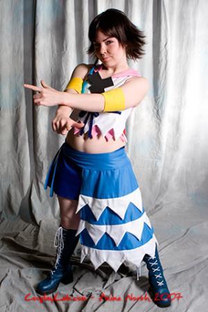 Yuna from Kingdom Hearts 2