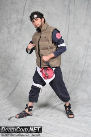 Asuma Sarutobi from Naruto worn by SiMoNsAz3