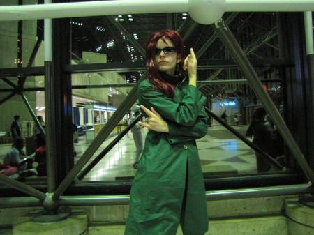 Noriaki Kakyoin from Jojo's Bizarre Adventure