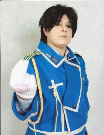 Roy Mustang from FullMetal Alchemist: Brotherhood