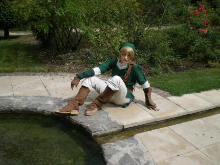 Link from Legend of Zelda worn by Link-rocket