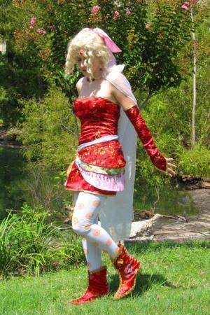 Terra Branford from Final Fantasy VI worn by Annwyn Daisy Viktoria