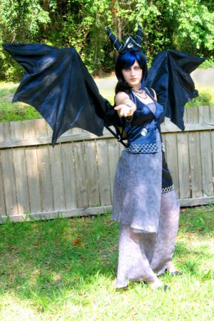 Bahamut from Final Fantasy worn by Annwyn Daisy Viktoria