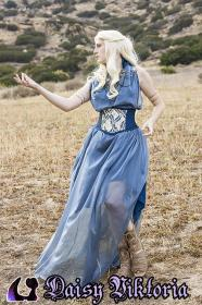 Daenerys Stormborn of House Targeryen from Game of Thrones by Annwyn Daisy Viktoria