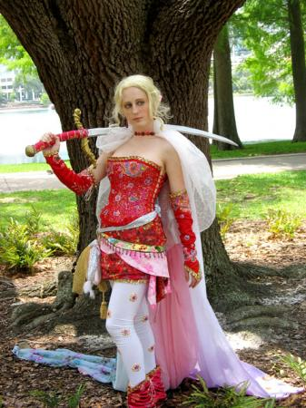 Terra Branford from Final Fantasy VI worn by Annwyn Daisy Viktoria