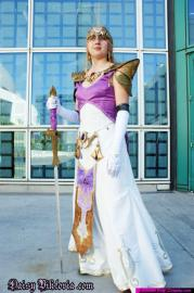 Princess Zelda from Legend of Zelda: Twilight Princess worn by Annwyn Daisy Viktoria