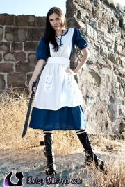 Alice from American McGee's Alice worn by Annwyn Daisy Viktoria