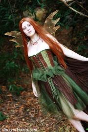 Aoife the Forest Faerie from Original:  Fantasy worn by Annwyn Daisy Viktoria