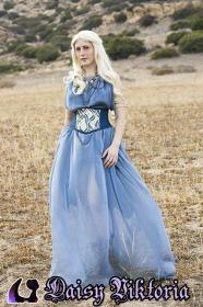 Daenerys Stormborn of House Targeryen from Game of Thrones worn by Annwyn Daisy Viktoria
