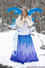 Winter Fairy from Original:  Fantasy worn by Annwyn Daisy Viktoria