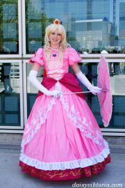 Peach from Mario Bros worn by Annwyn Daisy Viktoria