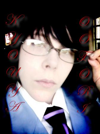 Kyoya Ootori from Ouran High School Host Club worn by YamisGuardianAngel