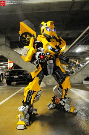 Bumblebee from Transformers worn by Bur Loire