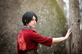 Hawke from Dragon Age 2  by Bur Loire
