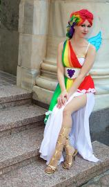 Rainbow Dash from
