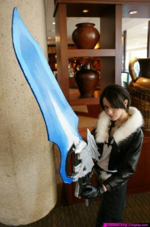 Squall Leonheart from