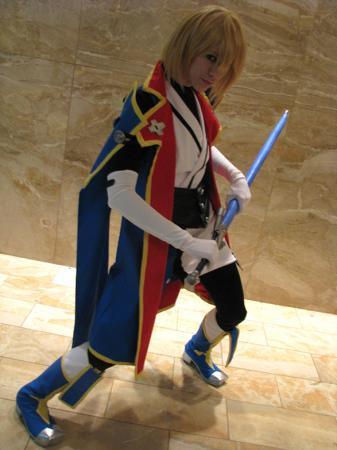 Jin Kisaragi from BlazBlue: Calamity Trigger (Worn by Bur Loire)