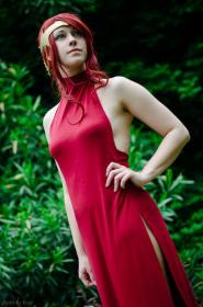 Pyrrha Nikos from RWBY worn by Bur Loire
