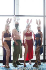 Viera Elementalist from Final Fantasy Tactics Advance worn by Bur Loire