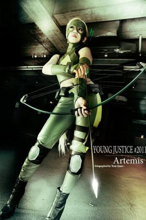 Artemis from Young Justice worn by Camilliette
