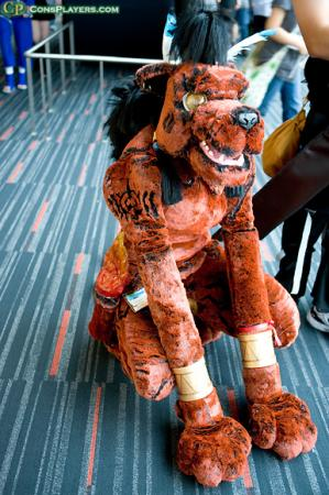 Red XIII from Final Fantasy VII worn by Armurita