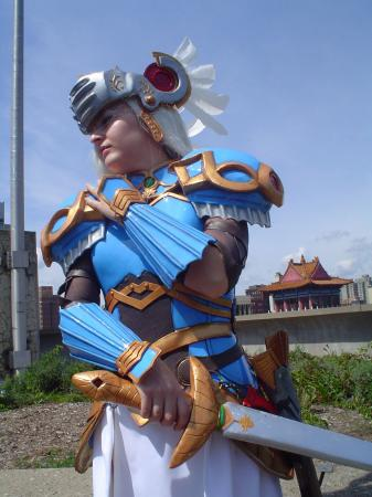 Lenneth Valkyrie from Valkyrie Profile worn by Armurita