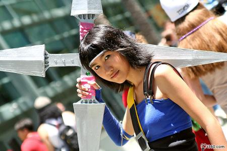 Yuffie Kisaragi from Final Fantasy VII: Dirge of Cerberus worn by Sushi Monster