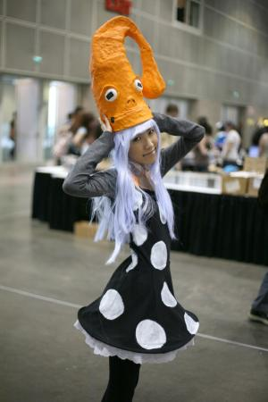 Eruka Frog from Soul Eater worn by Sushi Monster