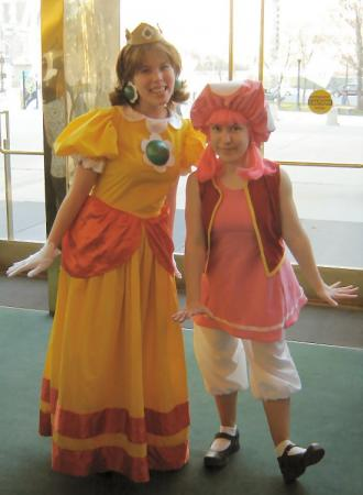 Toadette from Paper Mario Series worn by Hobbit Katie