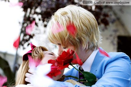 Tamaki Suoh from Ouran High School Host Club worn by Aimee