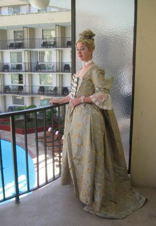 Madame de Pompadour from Doctor Who worn by Aimee