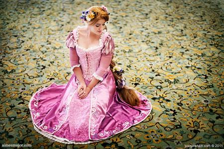 Rapunzel from Tangled worn by Aimee