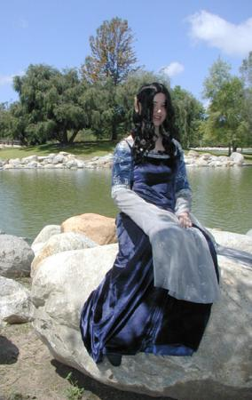 Arwen Undomiel from Lord of the Rings worn by Aimee