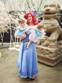 Ariel from Little Mermaid worn by Aimee
